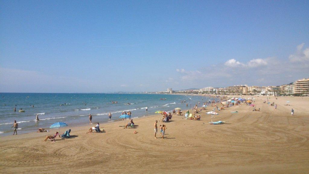 Playa Segur de Calafell en Calafell