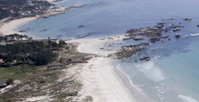 Playa Seixeliño en O Grove