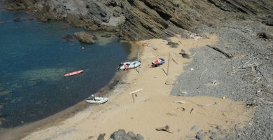 Playa S'Enclusa en Maó