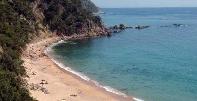 Playa Senyor Ramón en Santa Cristina d'Aro