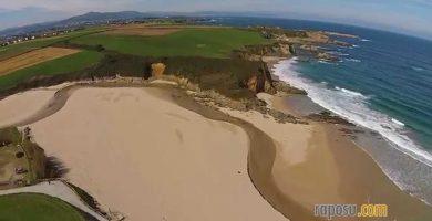 Playa Serantes en Tapia de Casariego