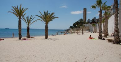 Playa Serragrossa en Alacant