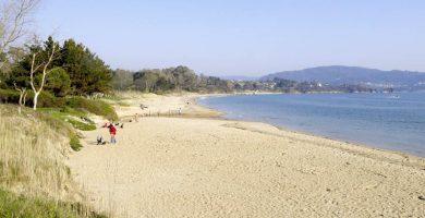 Playa Seselle en Ares