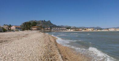 Playa Setla-Mirarrosa en Els Poblets