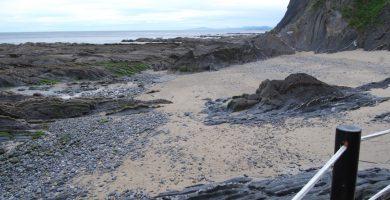 Playa Siete Playas en Mutriku