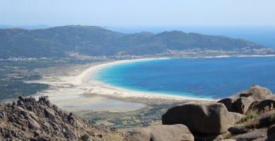 Playa Simprón en Carnota