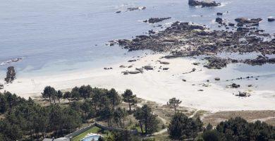 Playa Sobre do Pozo en O Grove