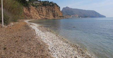Playa Solsida en Altea