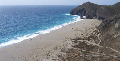 Playa Sombrerico en Águilas