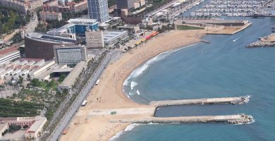 Playa Somorrostro en Barcelona
