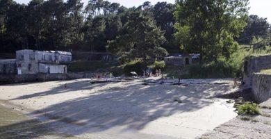 Playa Somorto en Muros