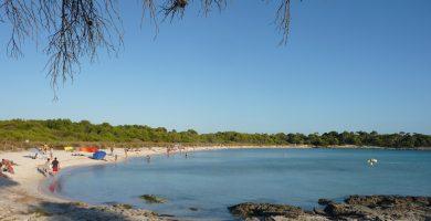 Playa Son Saura en Ciutadella de Menorca