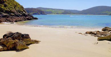 Playa Sonreiras en Cedeira