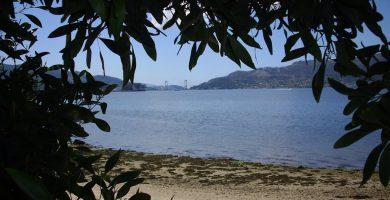 Playa Soutoxusto en Redondela