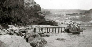 Playa Suárez en San Sebastián de la Gomera