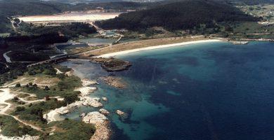Playa Sucastro en Xove