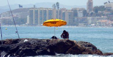 Playa Tajo de la Soga en Benalmádena