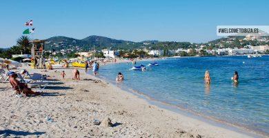Playa Talamanca en Eivissa