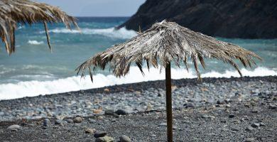 Playa Tamargada en Vallehermoso