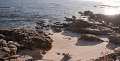 Playa Temperáns en Cangas