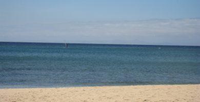 Playa Teneza en Tinajo