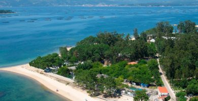 Playa Terrón en Vilanova de Arousa