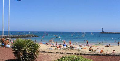 Playa Tío Joaquín en Teguise