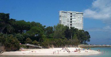 Playa Toralla en Vigo