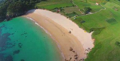 Playa Toranda en Llanes