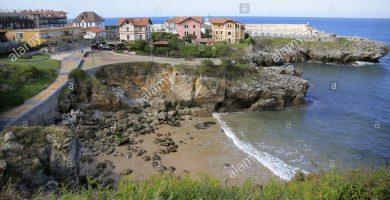Playa Toró en Llanes