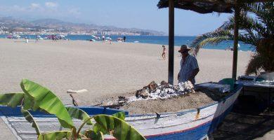 Playa Torre del Mar en Vélez-Málaga
