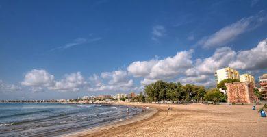 Playa Torre Sant Vicent en Benicasim
