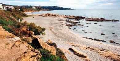 Playa Torreguadiaro en San Roque