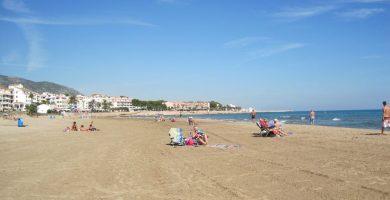 Playa Torrenostra en Torreblanca