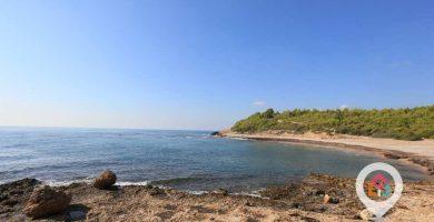 Playa Torrent del Pi en L'Ametlla de Mar