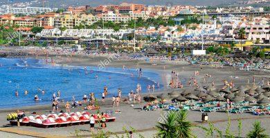 Playa Torviscas en Adeje
