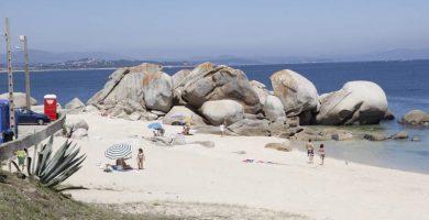 Playa Touro en Ribeira