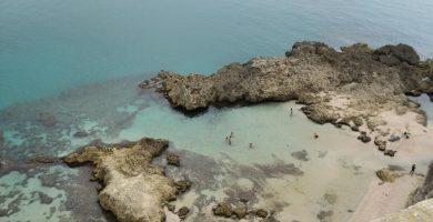 Playa Trápana en Melilla