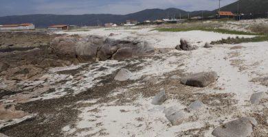 Playa Tras de Punta en Carnota