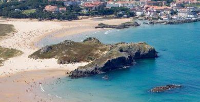 Playa Trengandín en Noja