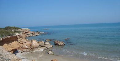 Playa Tres Playas en Alcalà de Xivert