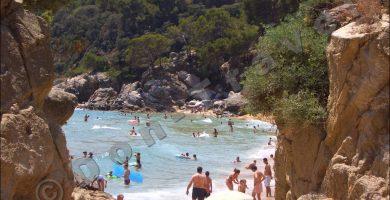 Playa Treumal en Blanes