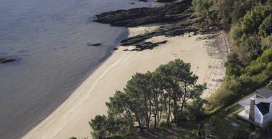 Playa Tronco en Rianxo