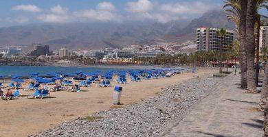 Playa Troya en Arona