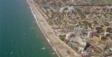Playa Urbanización Roquetas de Mar en Roquetas de Mar