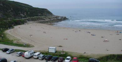 Playa Usgo en Miengo