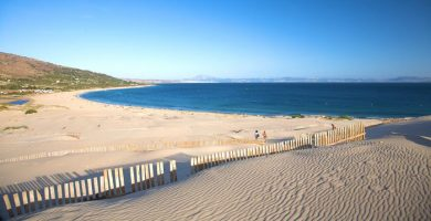 Playa Valdevaqueros en Tarifa