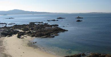Playa Valieiros en Ribeira