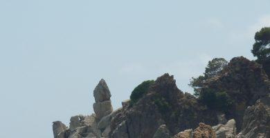 Playa Vallpresona en Santa Cristina d'Aro