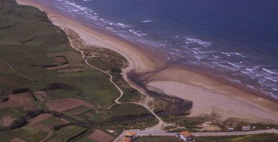 Playa Vega en Ribadesella